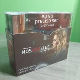 Sandy: Box Nós Voz Eles Singles +dvd