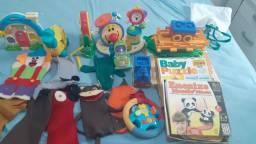 Brinquedos educativos e Fisher price