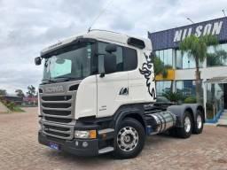 Scania R 440, 6x2, Branco, 18/18, Freio Retarder