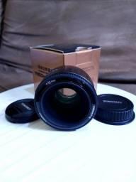 Lente Yongnuo 50mm F1.8