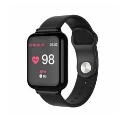 Relógio Inteligente Smartwatch B57 Preto