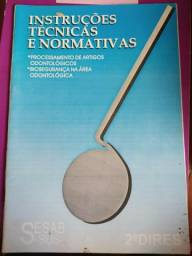 Livro odontológico de instruções técnicas e normativas