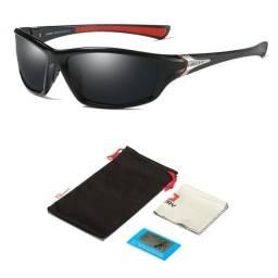 Óculos De Sol Esportivo Polarizado UV400 Anti Reflexo Original Dubery D120