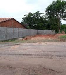 Terreno esquina no asfalto R$ 65 mil