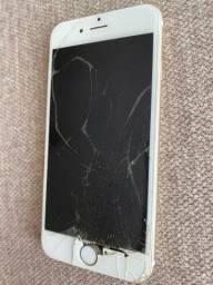 Vendo Iphone 6 display quebrado