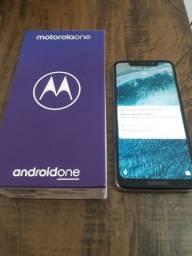 Motorola Moto One 64 GB | Branco | Original | Completo