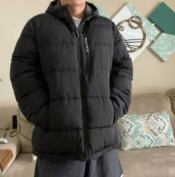 Título do anúncio: Casaco Impermeável corta vento ( ideal para local Frio) - Náutica ( Pouquíssimo Uso )