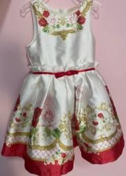 Vestido de 1 ano usado 1x