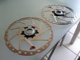 Discos Rotores Shimano DEORE 180 mm