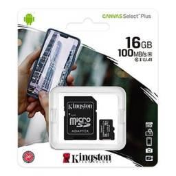 Cartão de memória microSD Kingston Canvas Select Plus 16GB