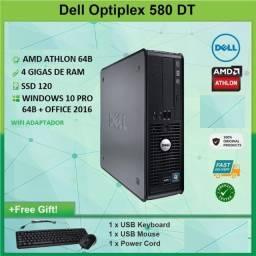 "Dell Optiplex 580, 4 Gigas, Ssd120 1 Monitor 20"""
