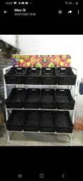 Fruteira de hot frutis