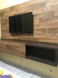 Painel de TV + rack incluso