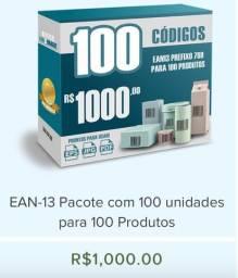 Códigos de Barras para Produtos EAN13