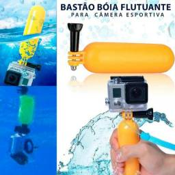 Bastão Bóia Flutuante Gopro Bobber Floaty Mergulho Sjcam