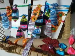 Promoção gravatas pet 4,0 cartela com 5 un