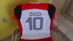 Camisa Flamengo retrô Zico