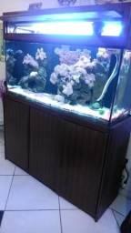 Aquário Marinho 370 L - Completo
