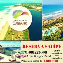 Reserva Sauípe, Lotes a partir 450m², financiamento direto Odebrecht - Por 257.000