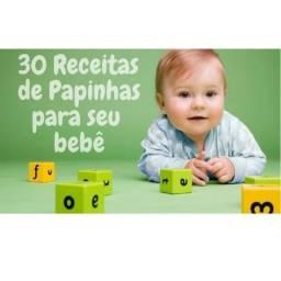 30 Papinhas deliciosas que seu bebê vai Amar!