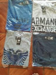 Camisetas com estampas de todas as cores