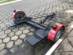 Carretinha asa delta reboque carro guincho