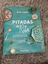 Livro de receitas Pitadas da Rita
