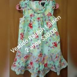 Roupas infantil (Vestido, calça e casaquinho)