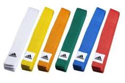 Faixa Adidas Artes Marciais coloridas 240cm