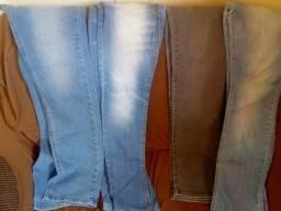 Vendo calça jeans é short jeans tudo masculino
