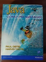 Java: Como Programar, 8ª Edição - Paul Deitel + Cd comprar usado  Taboão da Serra