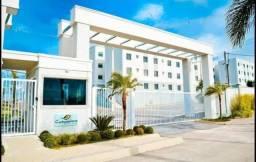Apartamento com 2 dormitórios à venda, 47 m² por r$ 170.000 - cachoeira - araucária/pr