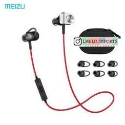 Fone Esportivo Bluetooth Meizu Ep51 Vermelho Original Sport   Última Peça