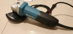 Esmerilhadeira Angular Makita 720W GA4534KX com 6 discos 220V