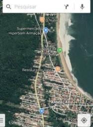 Terreno vista mar praia da Armação - Sul Ilha