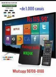 Tv box Mxq4k configurando