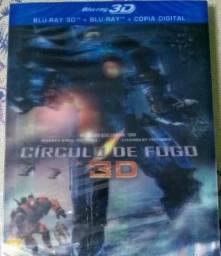 Círculo de Fogo - Blu-ray 3D + Blu-ray + Cópia Digital lacrado