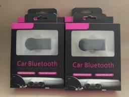 Bluetooth adaptador de áudio p2 novo