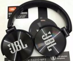 Fone De Ouvido Bluetooth Jbl Jb950 Super Bass Radio Fm Mp3 (entrego)
