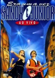 DVD Era Uma Vez -Sandy e Junior Ao Vivo - Novo, Original e Lacrado!