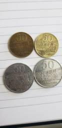 Coleção moedas Paraguai