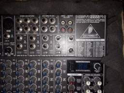 Mesa 16 canais com efeito - Behringer Mod. Kenyx 2222FX