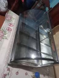 Estufa vidro curvo 4 bandejas marchesoni<br><br>