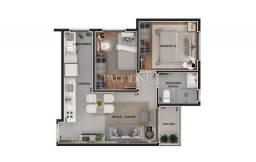 Apartamento à venda com 1 dormitórios em Bacacheri, Curitiba cod:AP0207