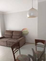 Apartamento com 1 dormitório para alugar, 48 m² por R$ 1.450,00 - Santa Cruz do José Jacqu