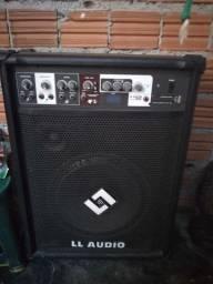 Vendo caixa amplificada ll audio lei adescrição