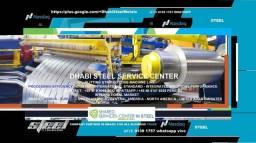 Aço Plano em Bobina para Telhas, Calhas, Concertinas - Dhabi Steel