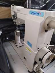 Máquinas de costura para couro