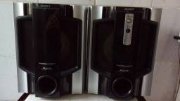 Caixas sony subwoofer