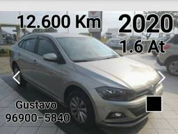 Virtus 2020 1.6 Automático 12.600 km único dono Oportunidade
